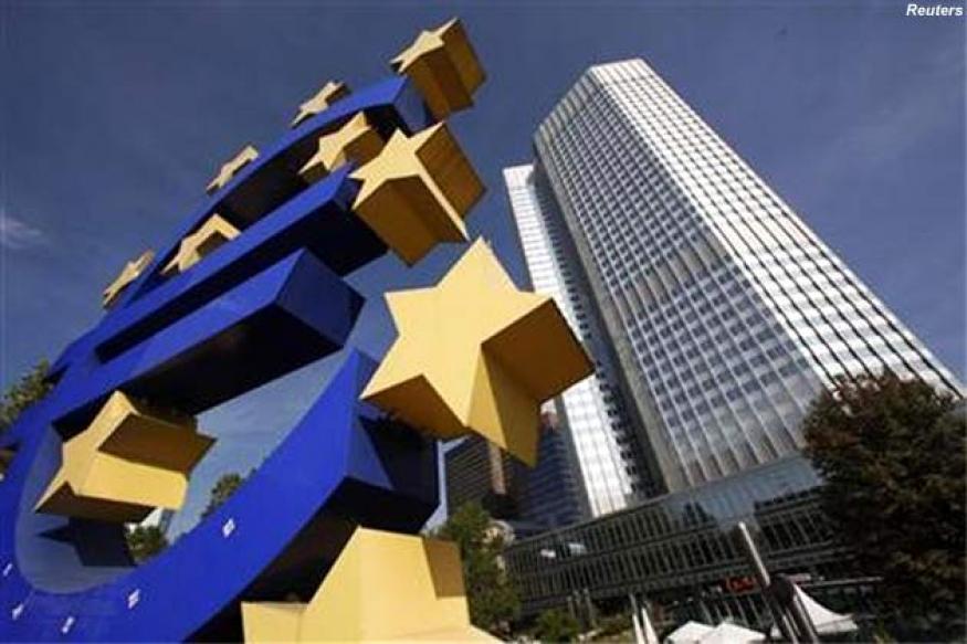 Euro slides as poor data raises easing prospects
