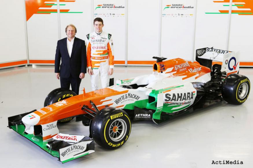 Sahara Force India unveil the VJM06 at Silverstone