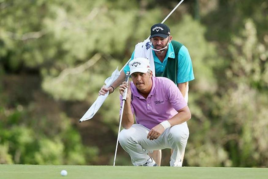 Fredrik Jacobson, Sang-Moon Bae tied for lead at Riviera