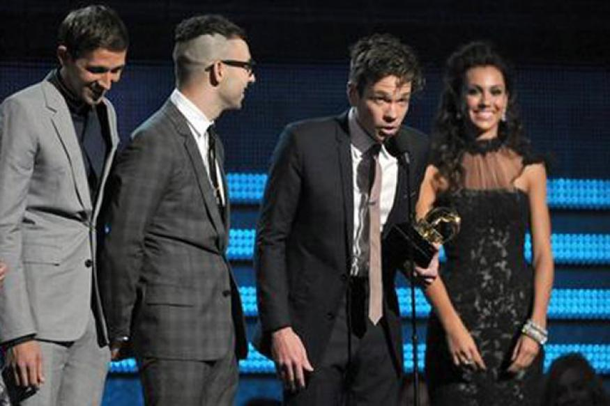 'We Are Young' wins Song of the Year at Grammy Awards