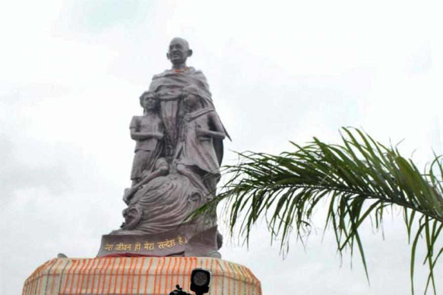 Snapshot: World's tallest statue of Mahatma Gandhi