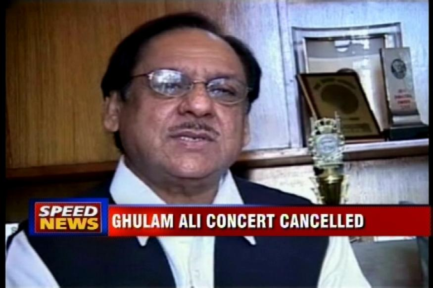 Mumbai: Ghulam Ali's concert cancelled after threats