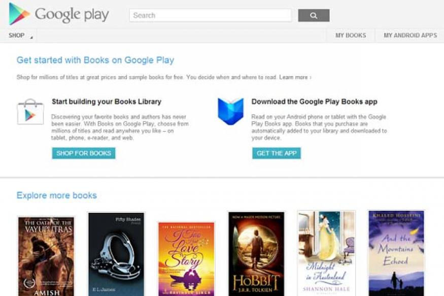 Books on Google Play now available in India