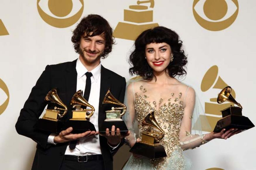 Selected winners at the 55th annual Grammy Awards