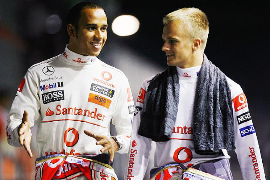 Crazy that Kovalainen not in F1, says Hamilton