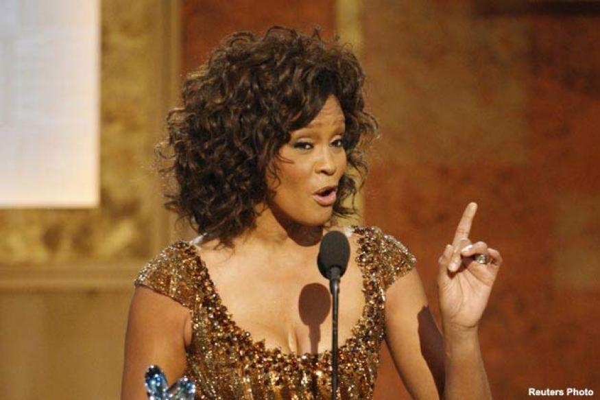 Whitney Houston wax works unveiled