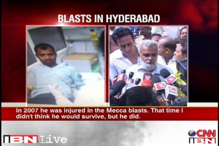 Hyderabad blasts: Two-time terror attack survivor quizzed