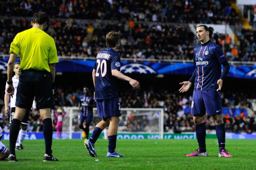 UEFA to judge Ibrahimovic red card case