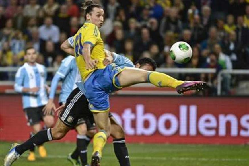 Argentina dominate Sweden in 3-2 win