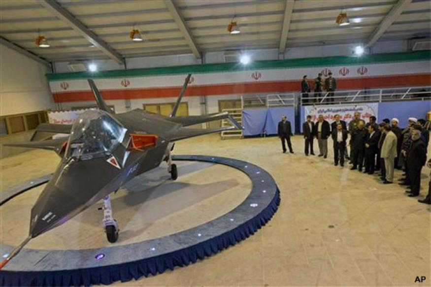 Iran unveils its own stealth fighter jet Qaher F-313