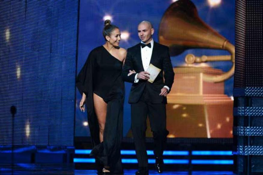 Grammy Awards: Celebrities show plenty of skin on the red carpet