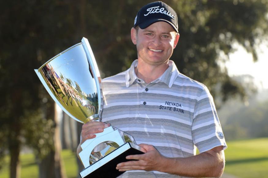 John Merrick wins first PGA Tour title at Riviera