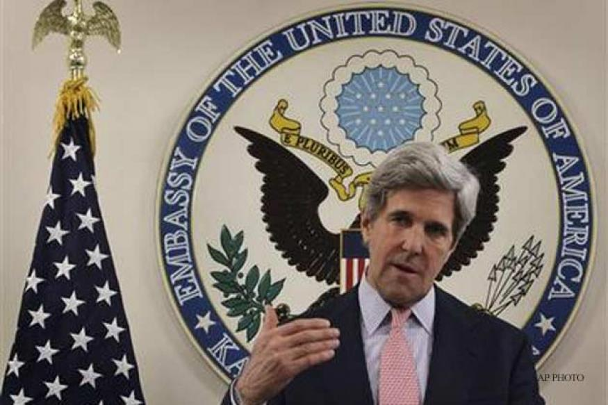 Kerry expresses sympathy with victims of Hyderabad blasts