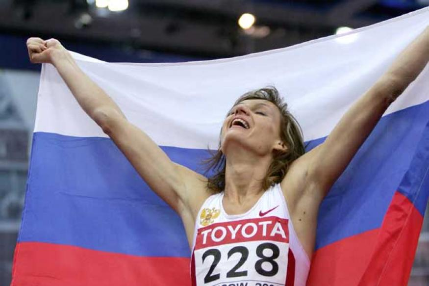 Russian long jumper Tatyana Kotova suspended for doping