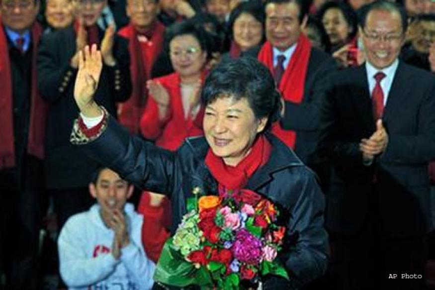 South Korea gets its first woman president