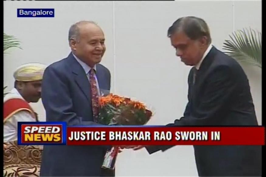 Ex-judge Bhaskar Rao sworn in as Karnataka Lokayukta