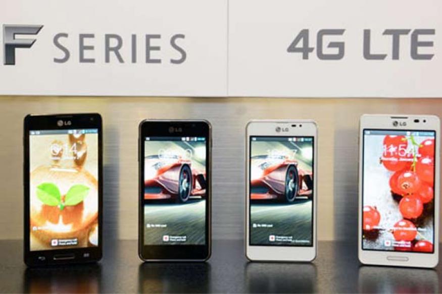 LG unveils Optimus F5, F7 Android smartphones