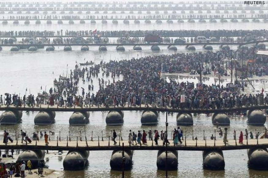 UP: Two killed in stampede at Maha Kumbh in Allahabad