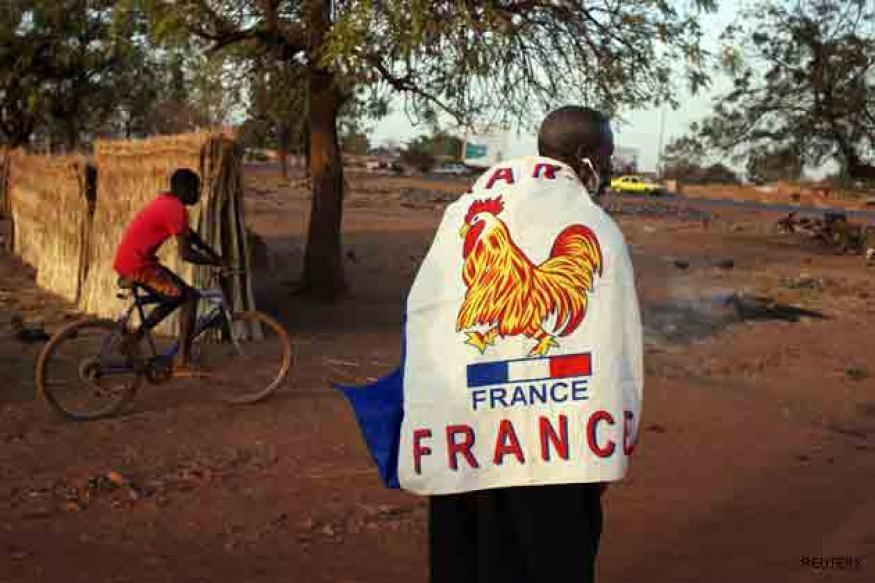 French planes pound terrorist camps in north Mali desert