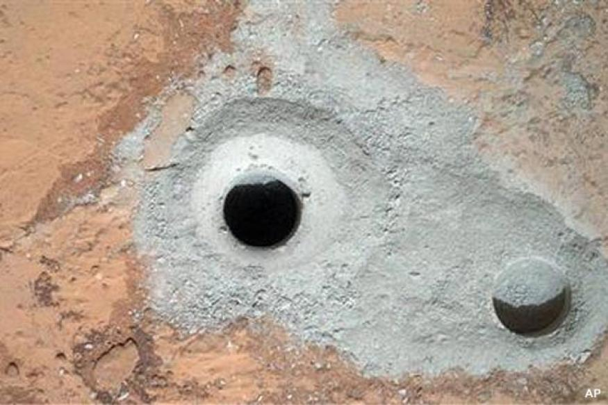 NASA's Mars Curiosity rover to ingest drill sample
