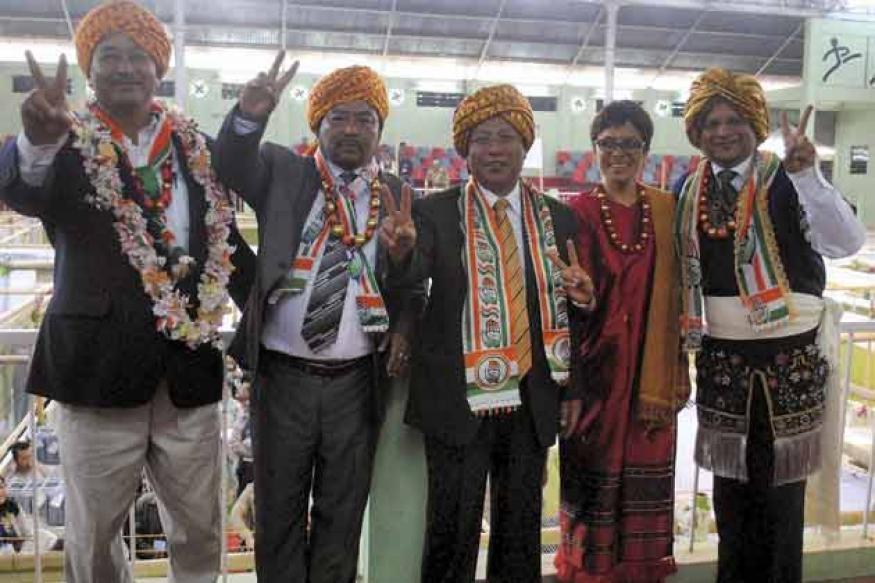 Old guard reclaim power in Tripura, Meghalaya and Nagaland