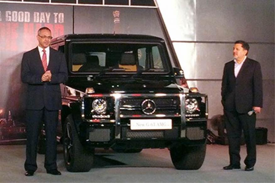 Mercedes-Benz G63 AMG launched in India at Rs 1.45 crore