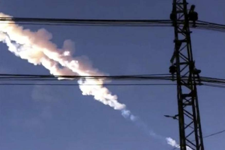 Watch: Meteorite fall in Russia's Urals