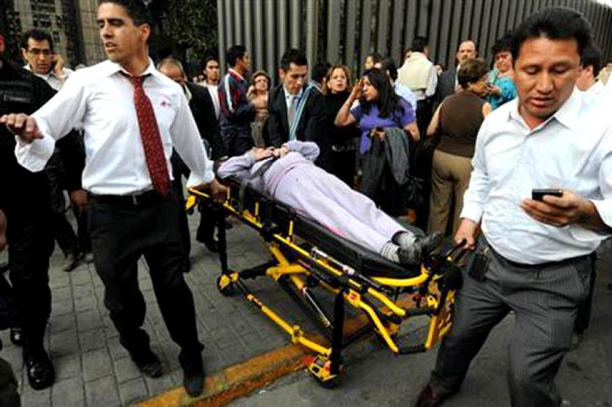 Explosion at Mexican oil giant Pemex headquarters kills 25