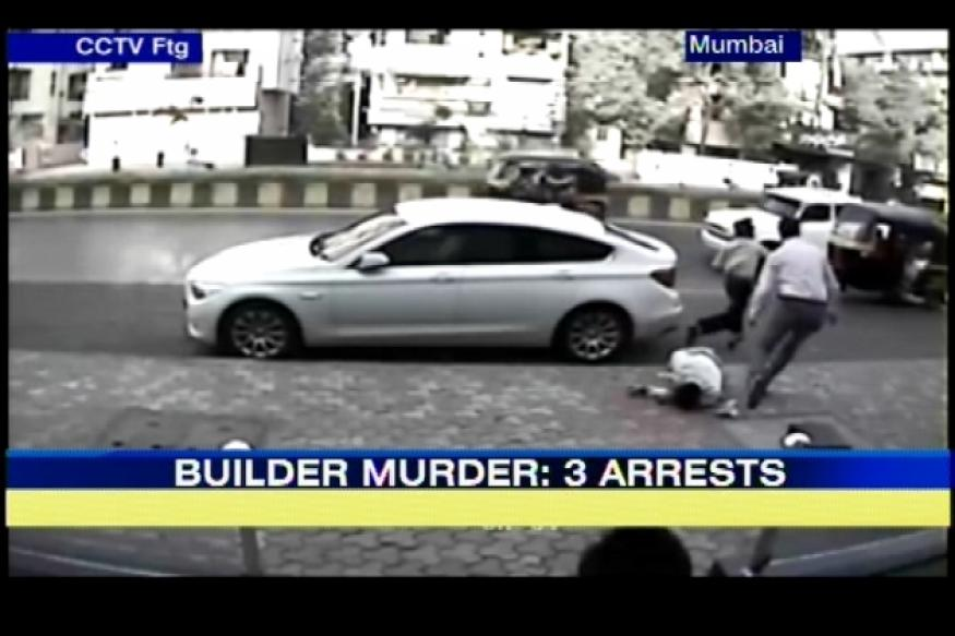 Mumbai builder murder case: Police arrest 3 people