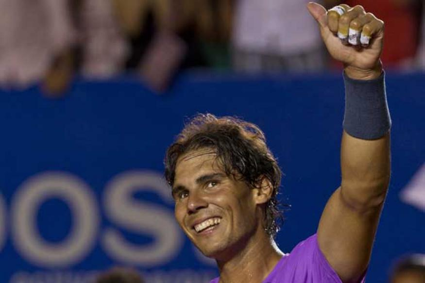 Nadal storms into the quarters in Acapulco