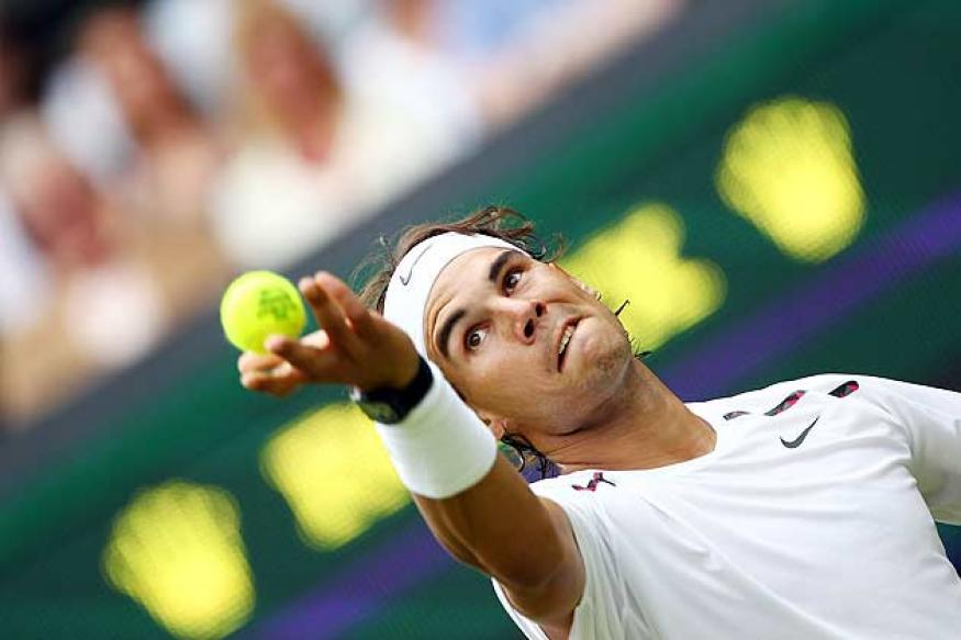Nadal's knee may bother him until end of month