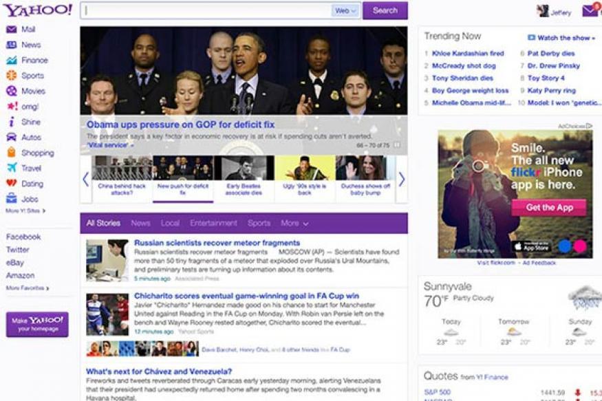 Yahoo unveils website revamp
