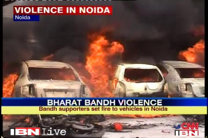 Noida trade union violence: Sequence of events