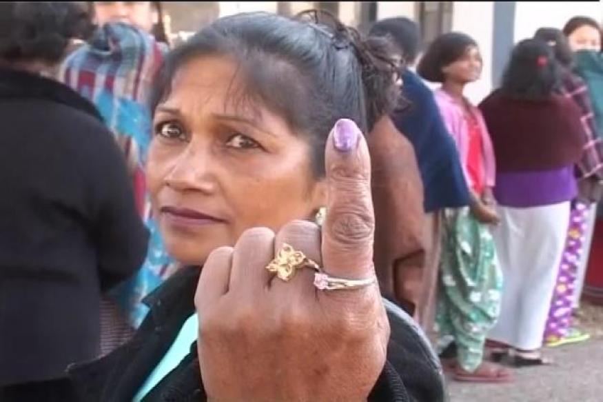 Nagaland: 30 per cent polling recorded till 11 am