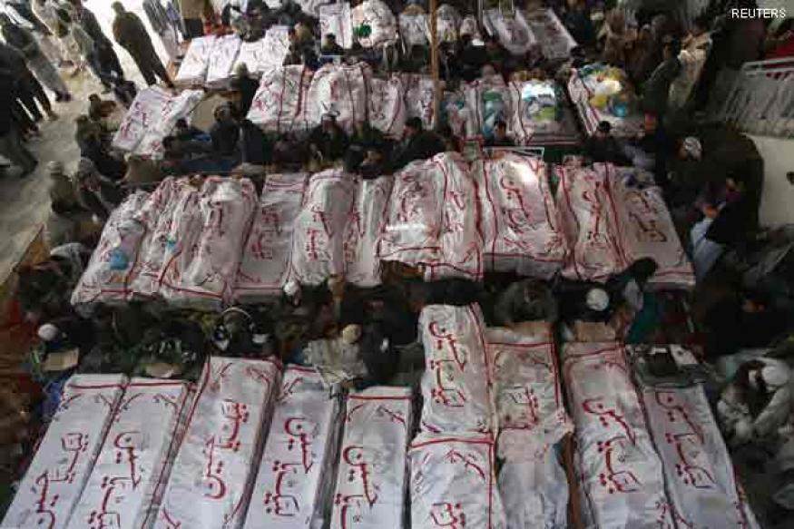 Pakistan: Blast victims' families refuse to bury dead