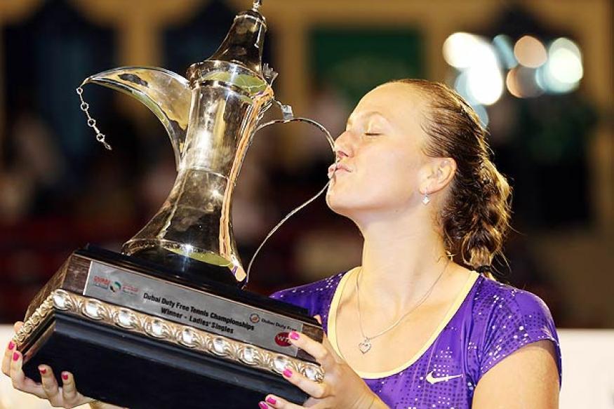 Kvitova defeats Errani to win Dubai title