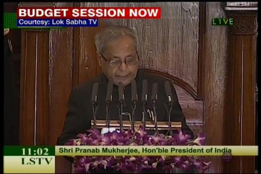 Full text: President Pranab Mukherjee's speech in Parliament