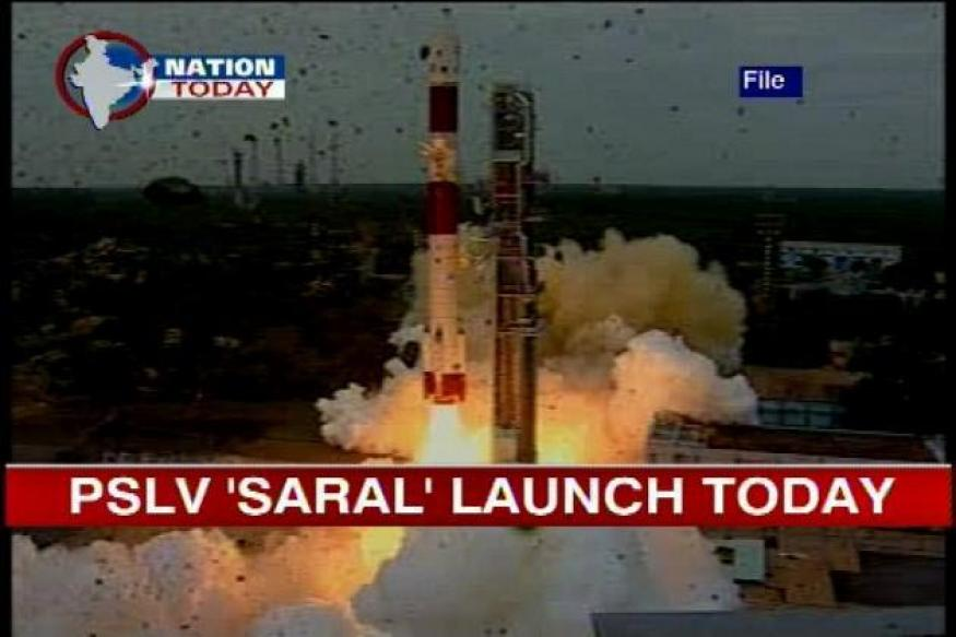 ISRO to launch PSLV 'SARAL' today