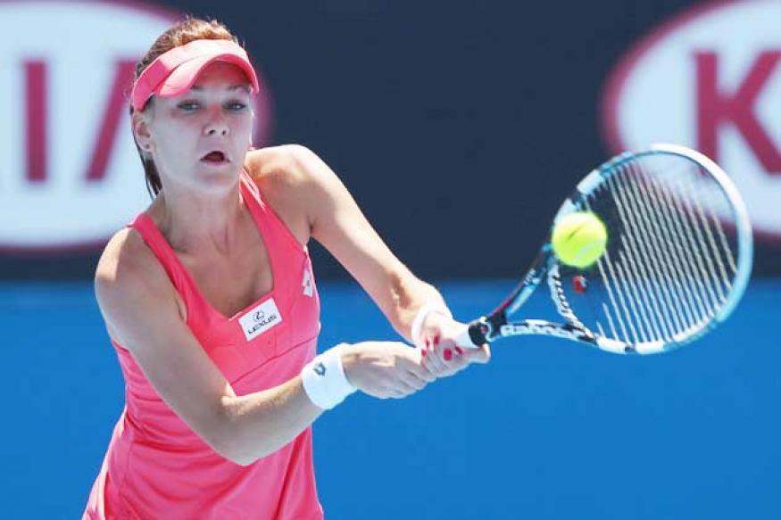 Radwanska eases into Dubai quarterfinals