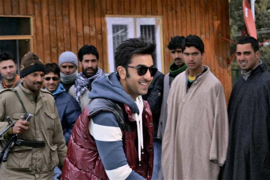 Snapshot: Ranbir shoots for Yeh Jawaani Hai Deewani