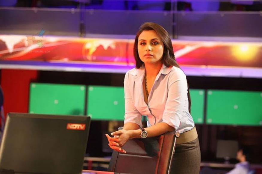 Rani Mukerji dons journalist's garb - again