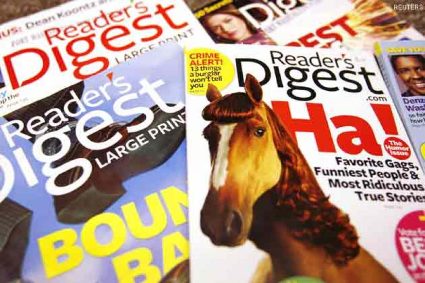 Reader Digest's publisher files for bankruptcy again