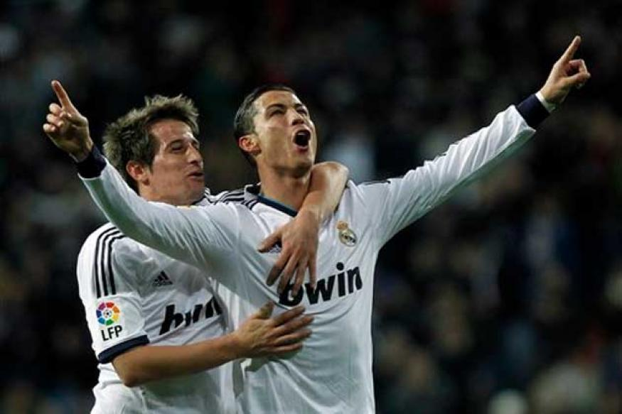 Ronaldo nets three in Real Madrid's win over Sevilla