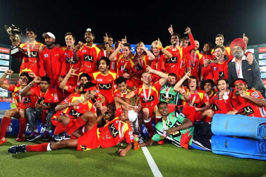 Ranchi Rhinos crowned Hockey India League champions