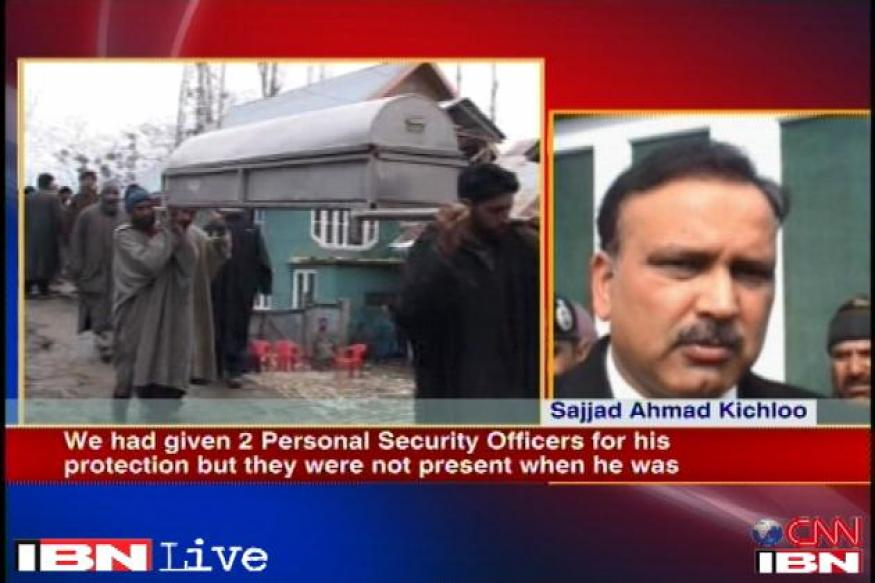 J&K sarpanch death: State govt hints at political rivalry