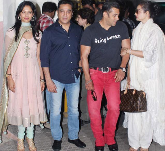 Kamal Haasan: Salman liked 'Vishwaroop' immensely