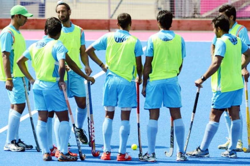 India begin hunt for a place in the 2014 World Cup