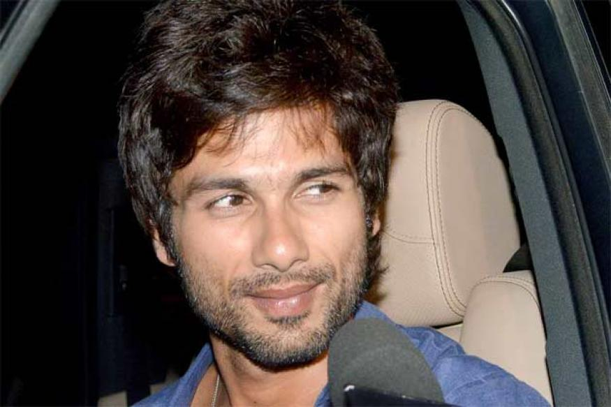 Snapshot: Why does Shahid look so glum on his birthday?