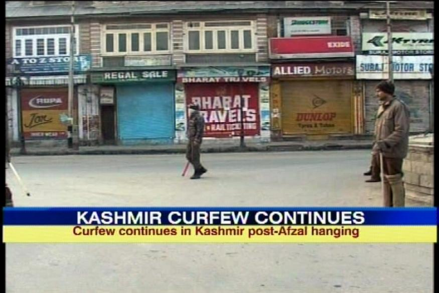 Afzal Guru hanged: Kashmir under curfew for third day