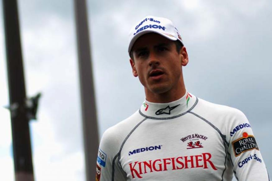 Adrian Sutil close to F1 return with Force India
